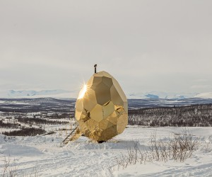 Solar Egg Sauna by Bigert  Bergstrom