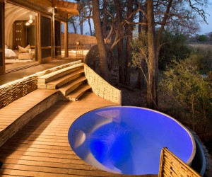 Solar-Powered Safari Lodge Located in Botswana, Africa