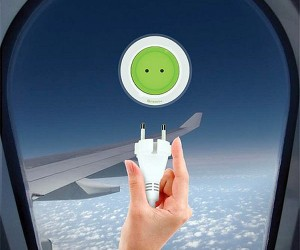 Solar Powered Window Socket Charger