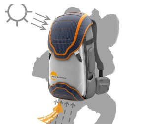 Solar Rucksack: Heat Through Solar Energy