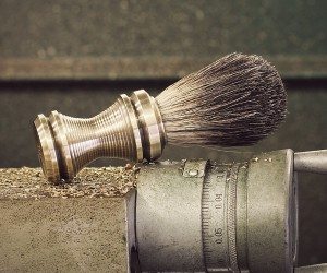 Solid Brass Shaving Brush