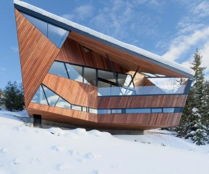 Solid suggestions in winter house architecture