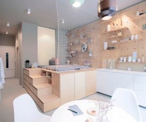 Solutions For A Tiny Apartment in Budapest