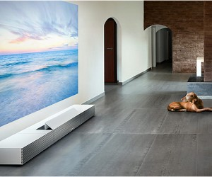 Sony 4K Ultra Short Throw Projector | CES 2014