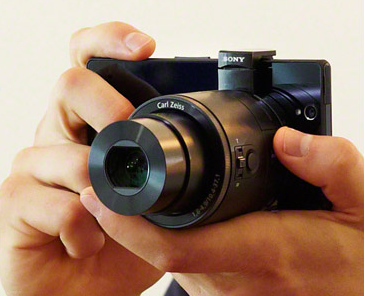 Sony Smartphone Attachable Lens Style Camera