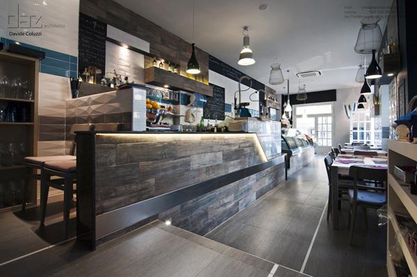 Sor duilio restaurant fish market by davide coluzzi for Fish market design ideas