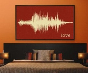 Soundwave Art Canvas: Turn Your Voice into Art