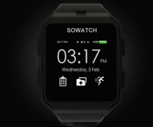 SOWATCH: Health Detecting Smart Watch