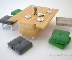 Space saving convertible furniture for your living dining