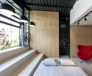 Space-Saving Design Idea at 45m2 Apartment