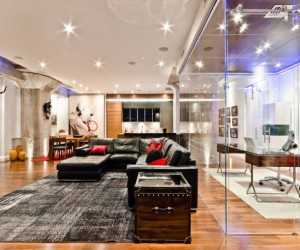 Spectacular loft project by ActDesign