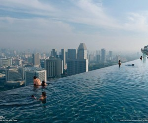 Spectacular Marina Bay Sands Hotel in Singapore