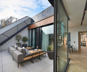 Spectacular Penthouse Located in Vienna, Austria Designed by FADD Architects