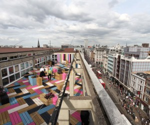 Spectacular Roof Terrace for London College of Fashion