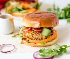 Spicy Thai Fish Burgers