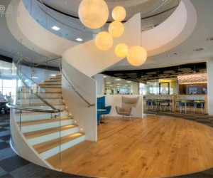 Spiral Staircase Systems: SS 846 - Skype HQ London