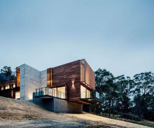 Spotted Gum Cladding and Concrete Envelope Nifty Aussie Home