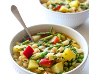 Spring Minestrone Soup Recipe