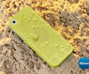 SQueo: Advanced Waterproof Bluetooth Speaker