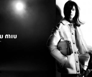 Stacy Martin Is The New Face Of Miu Miu FallWinter 2014 campaign