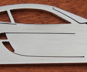Stainless Steel Bottle Openers in the shape of cool cars