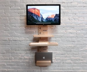 StandCrafted  Wall-mounted Standing Desk