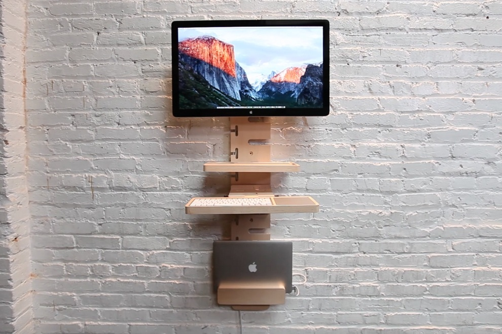 standcrafted wall mounted standing desk rh materialicious com wall mounted standing desk diy wall mounted standing desk diy