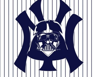 Star Wars x MLB Mash-Up Logos