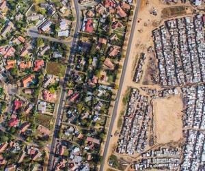 Stark Divide Between Rich and Poor Captured With Drones by Johnny Miller