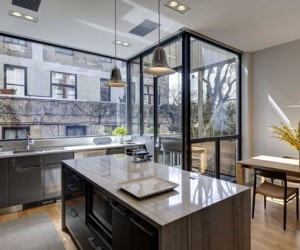 State Street Townhouse in New York by Ben Hansen Architect