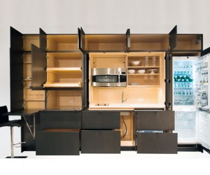 Stealth Kitchen: Hidden Storage