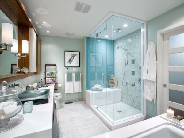 steam showers for some home spa like luxury - Luxury Showers