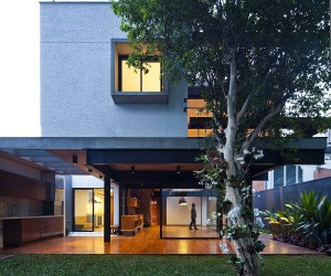 Steel and Concrete Sao Paulo Home with a Healthy Dose of Green