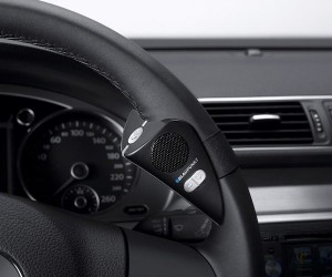 Steering Wheel Mount Bluetooth Speakerphone