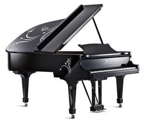 Steinway  Sons Heliconia Piano Designed by Lalique