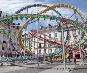 Stellar Installation by Baptiste Debombourg, Nantes