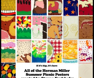 Steven Frykholms Herman Miller Summer Picnic Posters