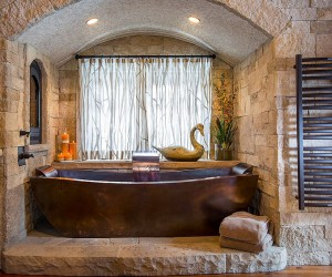 Stoic and Trendy: How to Bring Stone Walls Indoors with Modernity
