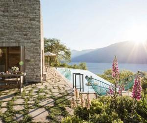 Stone Clad Villa at Lago di Garda