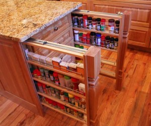 Strangely Satisfying Hidden Kitchen Compartments