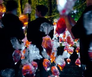 Street Heartbeats installation by Luzinterruptus