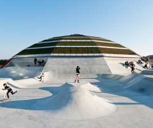 StreetDome Skate City by CEBRA and GlifbergLykke