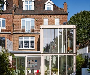 Striking Modern Update to an Edwardian Style Home in London