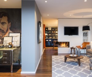 Striking Three Bedroom Duplex Exuding a Vivid Personality in London