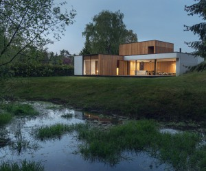 Studio de Materia Designs a House in Pozna, Poland