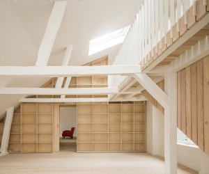 Studiomama Completes Renovation of Apartments in 1720s House