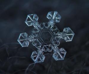 Stunning Close-Ups Photos of Snowflakes by Alexey Kljatov