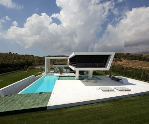 Stunning Contemporary Home Inspired by Yachts: Lavish Life in Greece