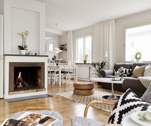 Stunning duplex apartment in Gteborg, Sweden