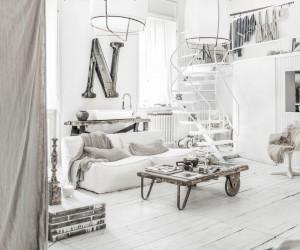 Stunning loft design by Paulina Arcklin
